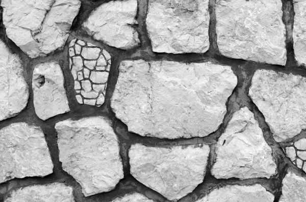 full frame shot of cracked stone